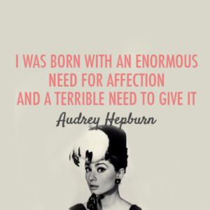 Audrey Hepburn Love Quotes