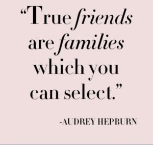 Audrey Hepburn Picture Quotes Friends