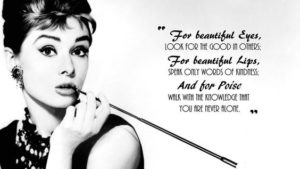 Audrey Hepburn Quotes on Fashion