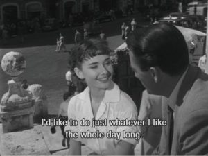 Audrey Hepburn Roman Holiday Quotes