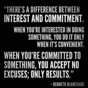 Commitement and Work Ethic Quotes