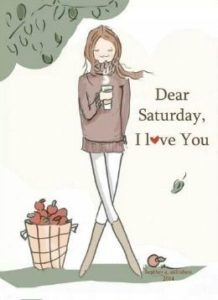 Cool Saturday Quotes with Image