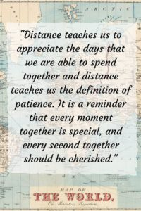Deep Long Distance Relationships Quotes Images