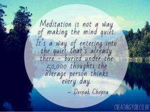 Deepak Chopra Meditation Quotes