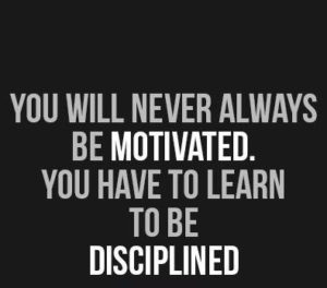 Discipline and Work Ethic Quotes