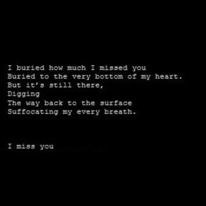 Emotional I Miss You Quotes