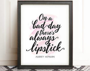 Framed Audrey Hepburn Quotes