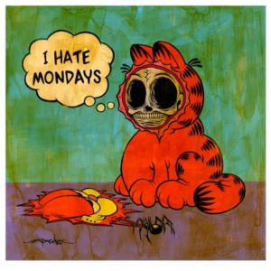 Garfield I Hate m=Monday