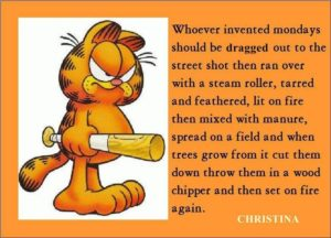 #Garfield Monday