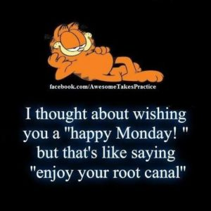 Garfield Monday Quotes