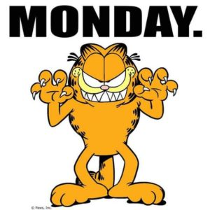 Garfield Monday Quotes Images