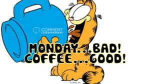 Garfield and Mondays