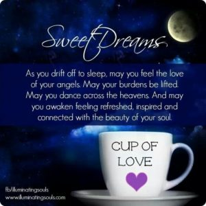 Good Night prayer quotes for Her