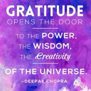 Gratitude Quotes by Deepak Chopra