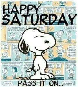 Happy Saturday Snoopy Quotes