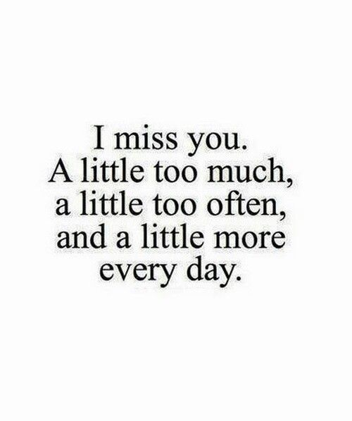 I Miss You Quotes For Her How much I miss you qu...