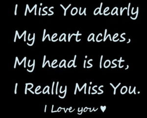 I Love and Miss You Quotes