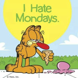 I hate Mondays Garfield