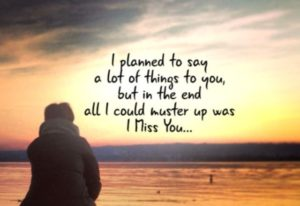 Love and Miss you quotes for Her