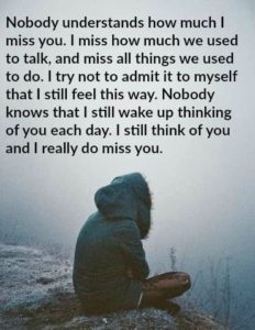 Missing You Hurts