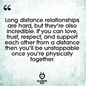 long distance relationship 101