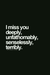 Short Missing You Quotes