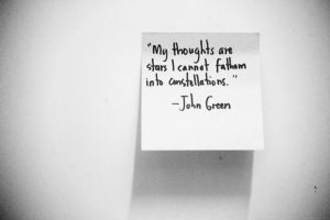 Unrequited Love quotes john green