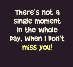 Very Cute Missing You Quotes