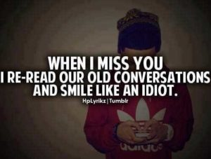 When I miss you quotes