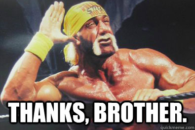 thank you brother meme