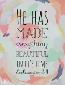 Biblical Quotes about God's timing