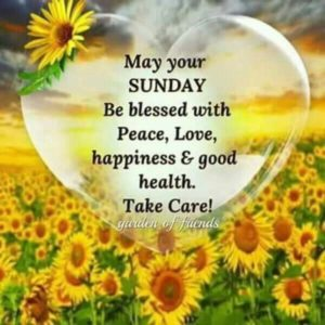 Blessed Sunday Sms
