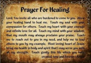 Christian Prayer for healing quotes