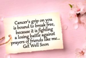 Get Well Soon Quotes for Cancer Patients