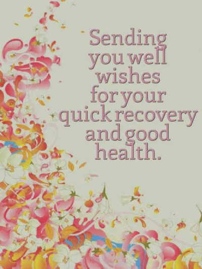 Get Well Soon Status Message