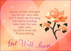 Get well soon encouragement quotes