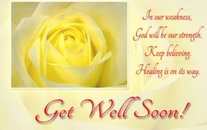Get well soon religious Quotes