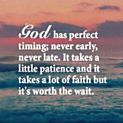 Gods Timing Quotes Images