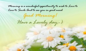 Good Morning Greeting Download