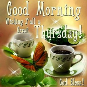 Good Morning wishes for Thursday