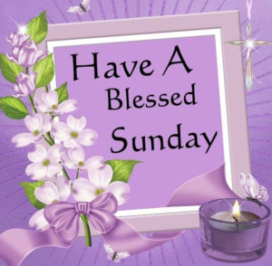 Have a Blessed Sunday Images