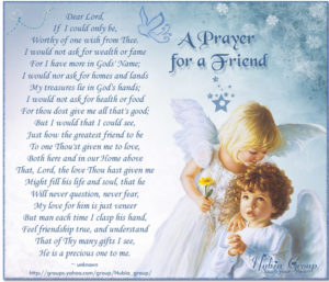 Healing prayer quotes for a friend