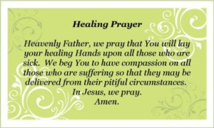 Prayer for Healing and Strength Quotes