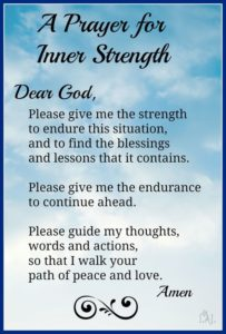 Prayers for Strength and Healing Quotes