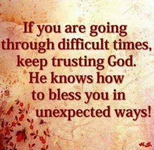 Quotes about Trusting God in difficult times