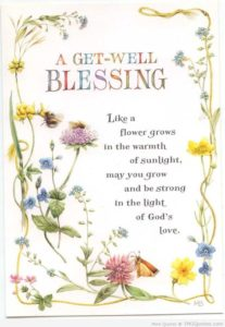 Quotes for get well soon Cards