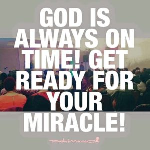 Quotes of God's Timing and Miracle