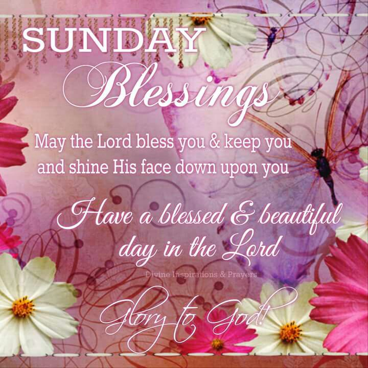 Sunday Blessings Quotes Beauteous Collection Of Best Blessed Sunday Quotes