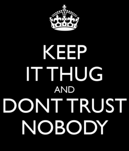 Trust no one famous quotes