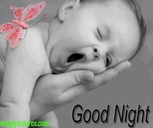 Cute Good Night Images Baby